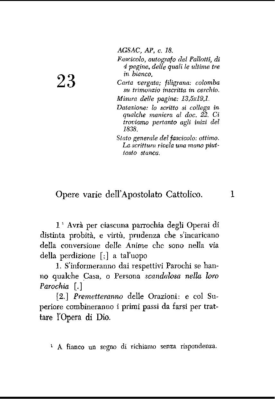 articoli cattolici sulla datazione